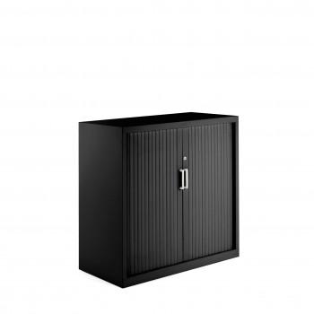 Armario K2 - Armario de persiana K2, medida 105x100 negro - Imagen 1