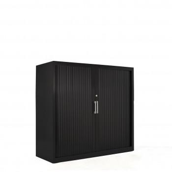 Armario K2 - Armario de persiana K2, medida 105x120 negro - Imagen 1