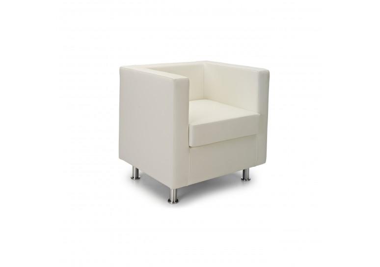 Sofa viena 1 plaza blanco