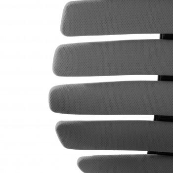 Spine - Silla de oficina Spine con reposacabezas gris - Imagen 2