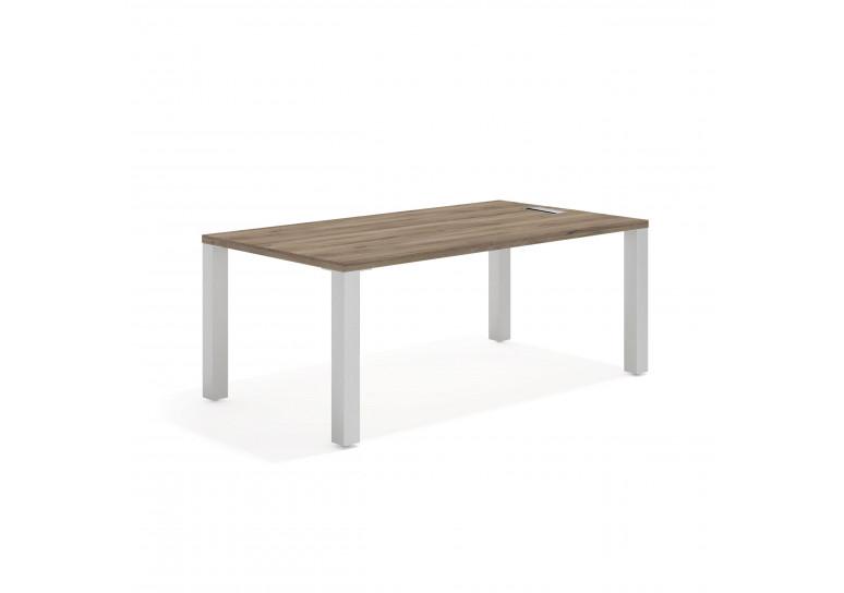Quadra mesa de trabajo aluminio