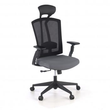 Baron - Silla de oficina Baron, reposacabezas, brazos 3D, red gris - Imagen 1