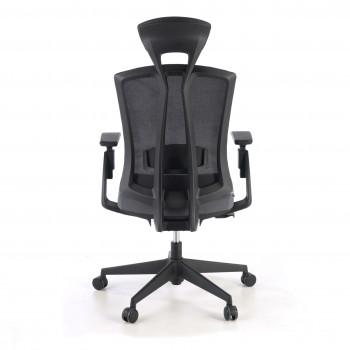 Baron - Silla de oficina Baron, reposacabezas, brazos 3D, red gris - Imagen 2