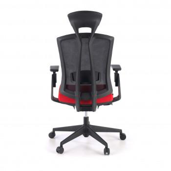Baron - Silla de oficina Baron, reposacabezas, brazos 3D, red rojo - Imagen 2