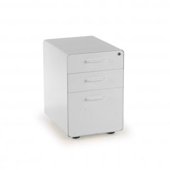 Apple - Cajonera de oficina apple blanco - Imagen 1