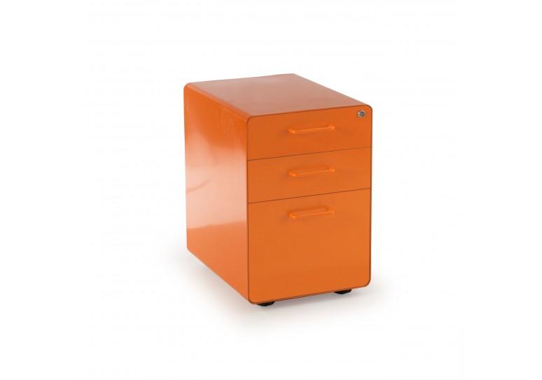 Cajonera de oficina apple naranja
