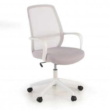 Point - Silla de escritorio Point white, basculante, red gris - Imagen 1