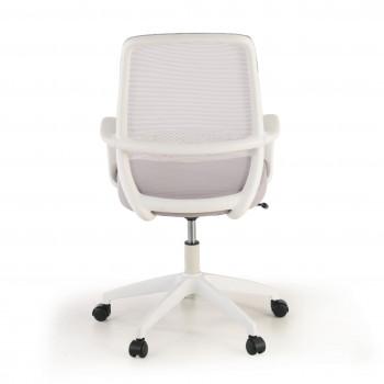 Point - Silla de escritorio Point white, basculante, red gris - Imagen 2