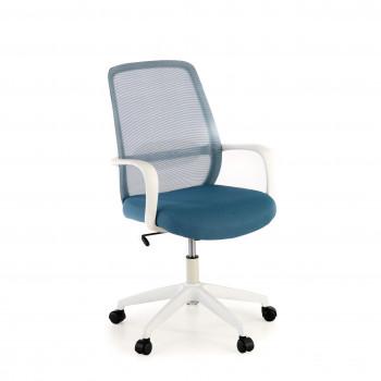 Point - Silla de escritorio Point white, basculante, red azul - Imagen 1