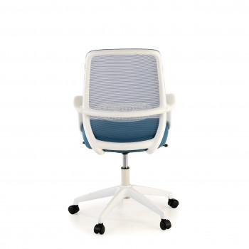 Point - Silla de escritorio Point white, basculante, red azul - Imagen 2