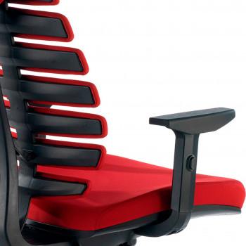 Spine - Silla de oficina ergonómica Spine rojo - Imagen 2