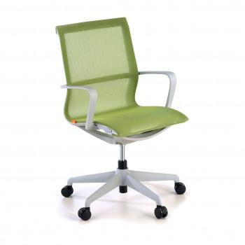 Ice - Silla de oficina giratoria Ice white  red verde - Imagen 1