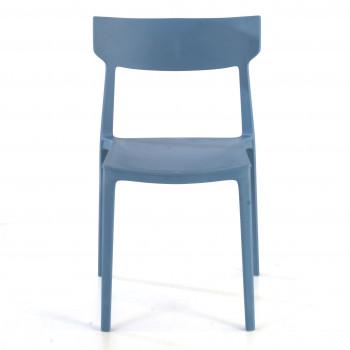 Silla Folk azul