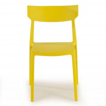 Silla Folk amarillo