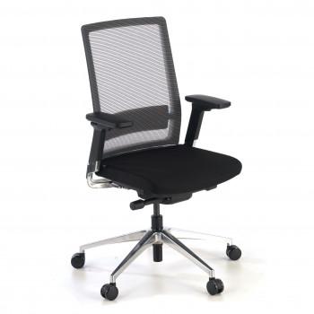 Physix - Silla de oficina Physix, asiento dinámico, red negro - Imagen 1