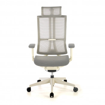Silla Ghost white Gris