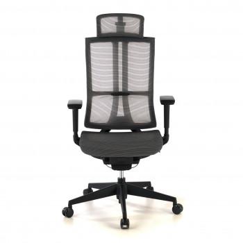 Ghost - Silla de oficina Ghost, reposacabezas, brazos 3D red negro - Imagen 2