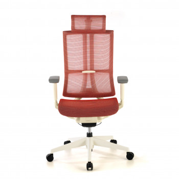 Silla Ghost white Rojo
