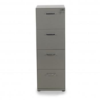 Dado - Archivador de oficina 4 cajones Dado, reforzado, tamaño A4 estructura aluminio - Imagen 2