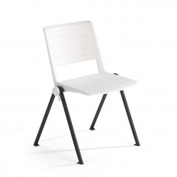 Replay - Silla confidente Replay, 4 patas blanco - Imagen 1