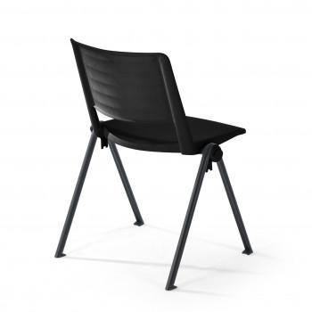 Replay - Silla confidente Replay, 4 patas negro - Imagen 2
