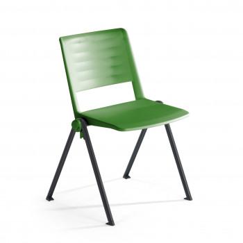 Replay - Silla confidente Replay, 4 patas verde - Imagen 1