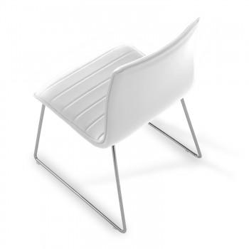 Silla Cube Patín blanco