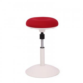 Spiro - Taburete de oficina Spiro blanco rojo - Imagen 1
