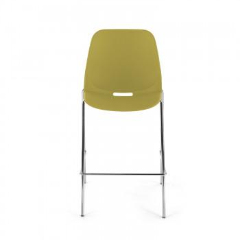 Miss - Taburete de oficina Miss amarillo - Imagen 2