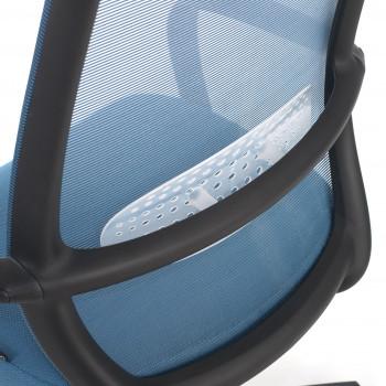 Point - Silla de escritorio Point, basculante, red azul - Imagen 2