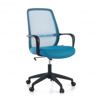 Point - Silla de escritorio Point, basculante, red azul - Imagen 1
