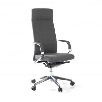 Sillón de oficina Hannover Cashmere gris - Imagen 1