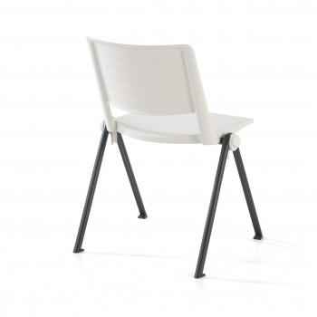 Replay - Silla confidente Replay, 4 patas blanco - Imagen 2