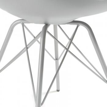 Silla Nordic Metal gris