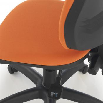 Silla Eco2 naranja