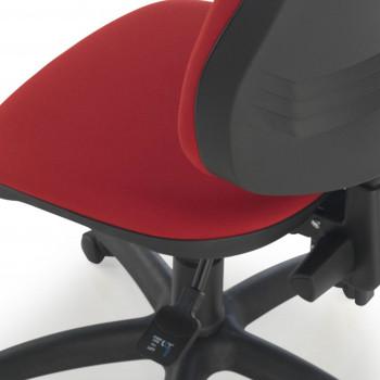 Eco2 - Silla de escritorio giratoria Eco2 roja - Imagen 2