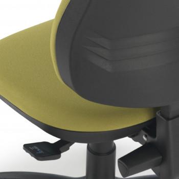 Eco2 - Silla de escritorio giratoria Eco2 verde - Imagen 2