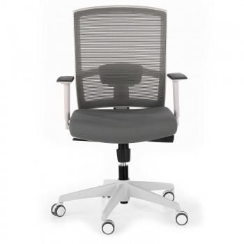 Kendo - Silla de oficina Kendo white, brazos ajustables, red gris - Imagen 2