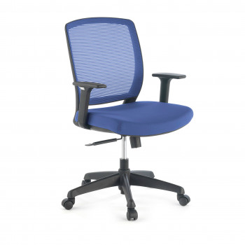 Nicole - Silla de escritorio giratoria Nicole, red azul - Imagen 1