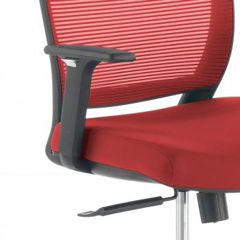 Nicole - Silla de escritorio giratoria Nicole, red rojo - Imagen 2