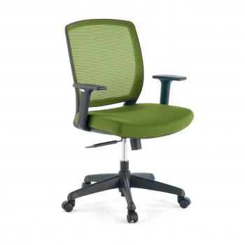 Nicole - Silla de escritorio giratoria Nicole, red verde - Imagen 1