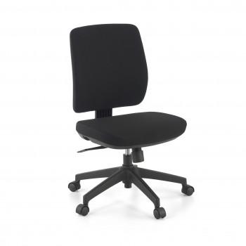 Wind - Silla de escritorio Wind, respaldo bajo tejido negro - Imagen 1