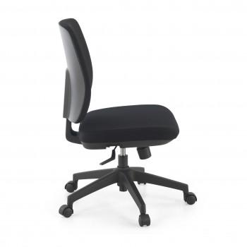 Wind - Silla de escritorio Wind, respaldo bajo tejido negro - Imagen 2