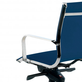 Croma - Silla de oficina Croma respaldo bajo azul - Imagen 2