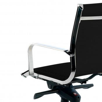 Croma - Silla de oficina Croma respaldo bajo negro - Imagen 2