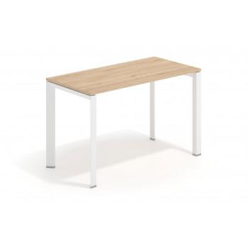 Link - Mesa de escritorio Link fondo 60 estructura blanca - Imagen 1