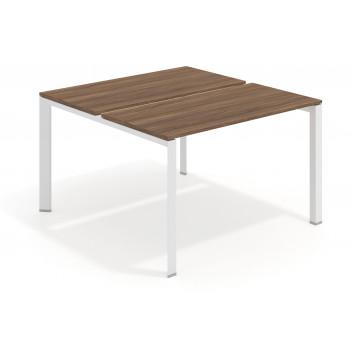 Link - Mesa multipuesto Link bench 126 estructura blanca - Imagen 1