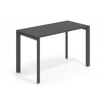 Link - Mesa de escritorio Link fondo 60 estructura negro - Imagen 1