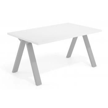 Uve - Mesa de escritorio Uve estructura estructura aluminio - Imagen 1