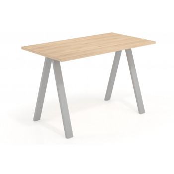 Uve - Mesa de escritorio alta Uve estructura estructura aluminio - Imagen 1